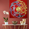 Koi fish paintings on canvas koi fish painting feng shui koi fish oil painting koi fish art japanese koi art acrylic koi fish painting koi fish wall art