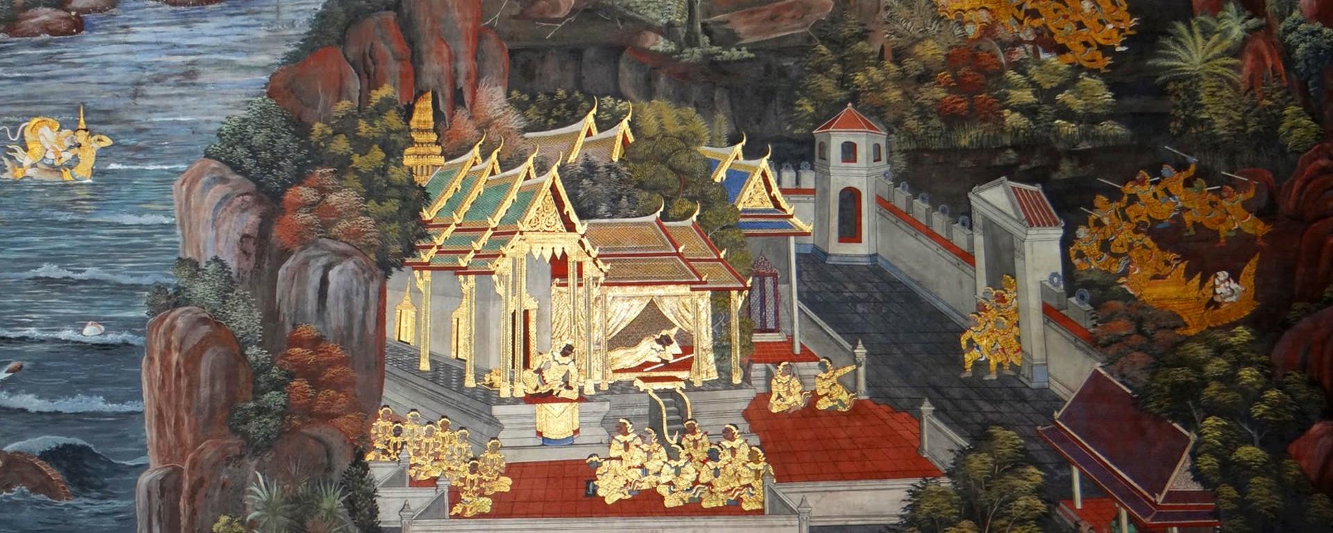 Handmade Art Thai Paintings paintings online Asian Art Wall Paintings Asian Paintings
