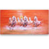 seven horse painting horse wall art horse artwork horse paintings on canvas white horse painting horse canvas wall art famous horse painting