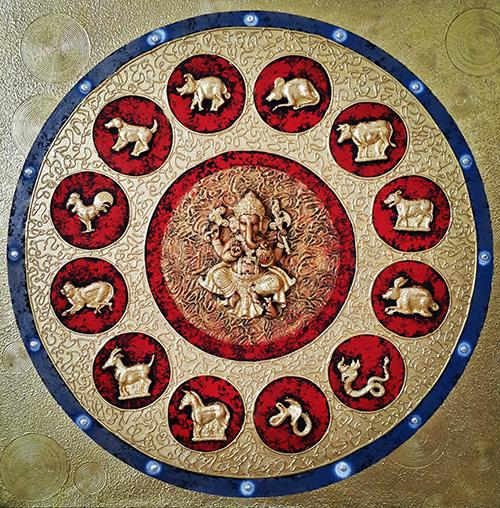 lord ganesha painting lord ganesha canvas painting lord ganesha wall art lord ganesha abstract painting lord ganesha acrylic painting