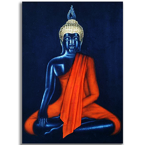 meditating buddha painting buddha wall art buddha paintings for living room gautam buddha painting buddha art paintings thai art thai painting thai artwork