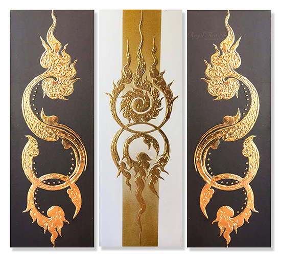 canvas art canvas painting canvas wall art canvas frames abstract wall art thai art thai painting thai artwork traditional thai painting thai pattern