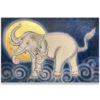 traditional thai elephant art elephant painting elephant wall art elephant wall decor elephant canvas elephant artwork