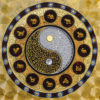 yin yang symbol zodiac mandala abstract painting yin yang art ying yang sign yin yang balance chinese zodiac art chinese zodiac painting zodiac art zodiac signs art zodiac paintings
