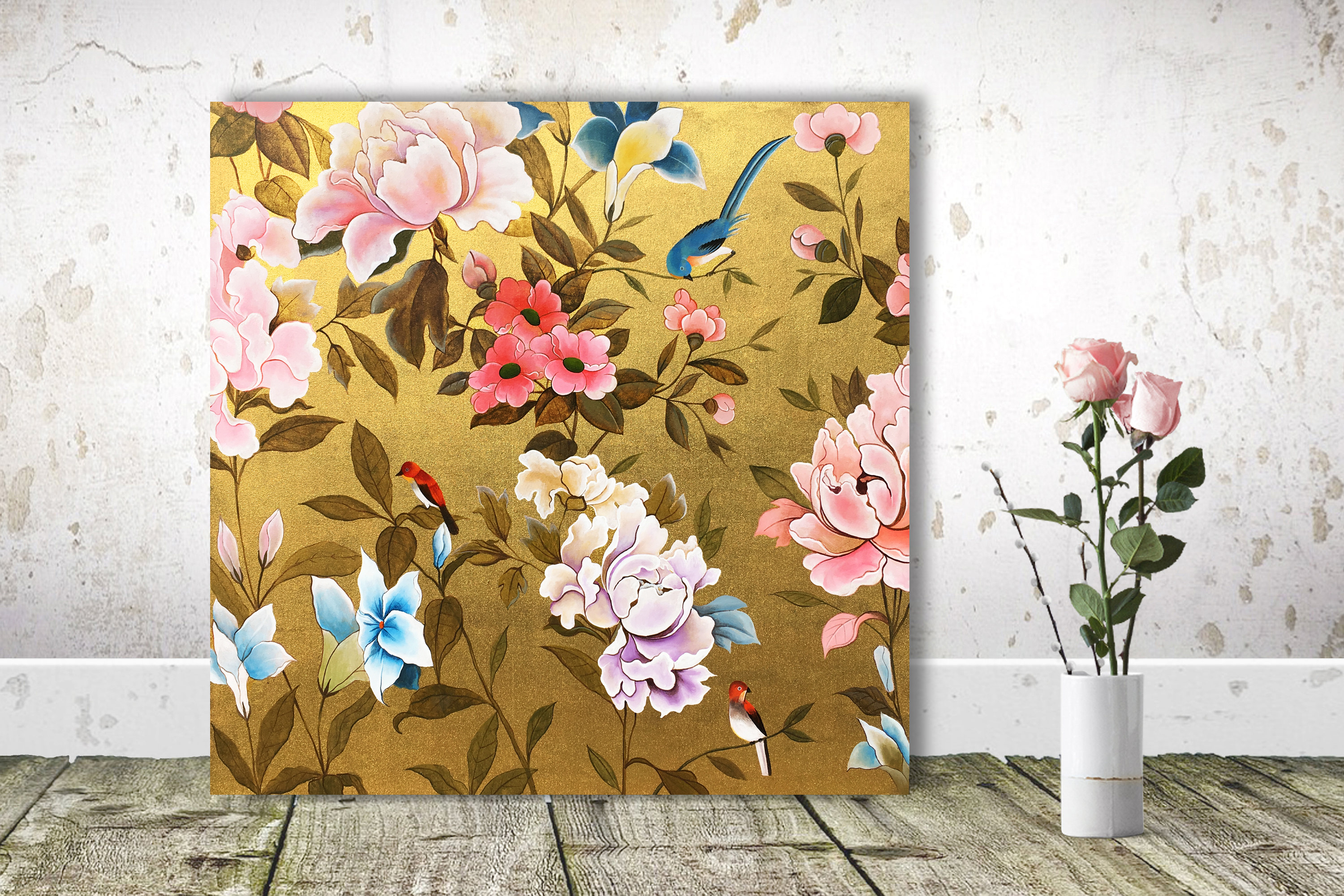 Chinoiserie Decor Painting