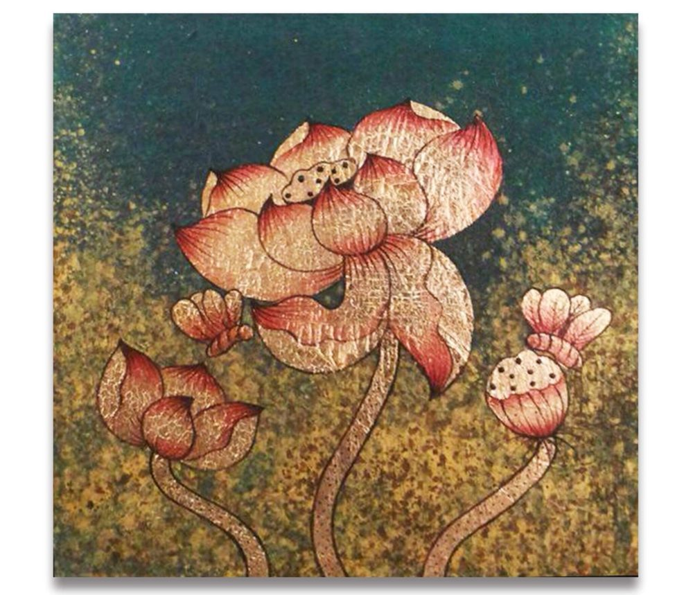 lotus painting and design
