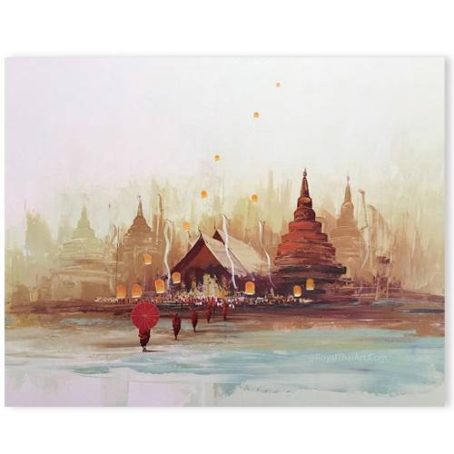 thai temple art thai mural painting thai art ancient thai art thailand art famous artworks thailand popular artwork