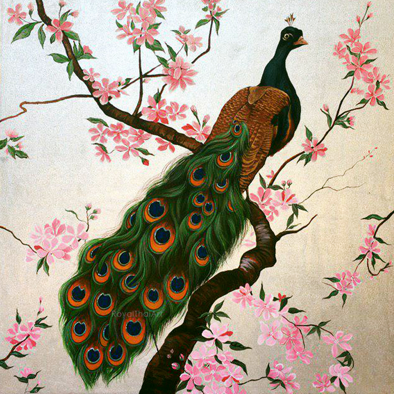 Peacock paintings on canvas peacock painting design peacock painting on wall peacock paintings abstract peacock images pictures of peacocks peacock wall painting peacock art image