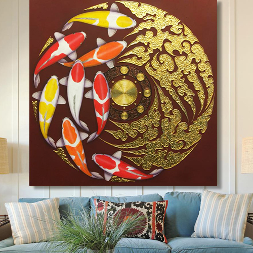 fish painting koi fish painting koi painting koi fish art koi picture wall painting art online artist painting online art gallery buy art for sale