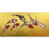 japanese koi fish canvas art japanese fish painting fish artwork coy fish painting koi fish acrylic painting koi fish artwork koi artwork fish paintings on canvas koi fish wall art