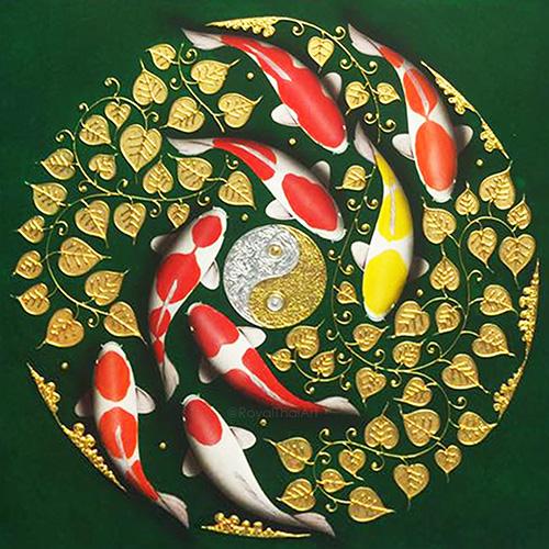 26+ Yin And Yang Koi Fish Art Gif
