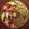 abstract japanese fish painting fish art chinese fish painting koi wall art koi painting for sale koi fish canvas art koi canvas art