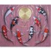 koi carp painting japanese koi carp paintings carp wall art koi artwork japanese koi painting koi fish wall art koi fish paintings on canvas