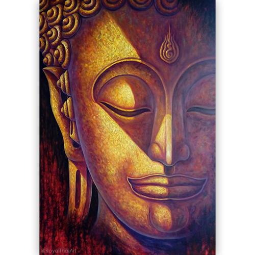 good luck buddha painting buddhist art for sale buddha abstract art abstract buddha art buddha acrylic painting on canvas buddha face art buddha mural painting
