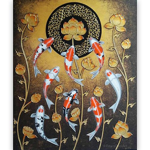 chinese koi fish painting chinese koi painting koi fish paintings for sale koi fish wall painting koi fish japanese painting koi fish painting images carp wall art