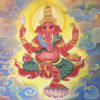 ganesha painting ganesha canvas painting lord ganesha painting abstract ganesha ganesh wall art ganesha paintings acrylic ganesha abstract painting