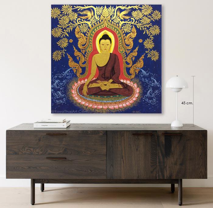 buddha canvas wall art home decor