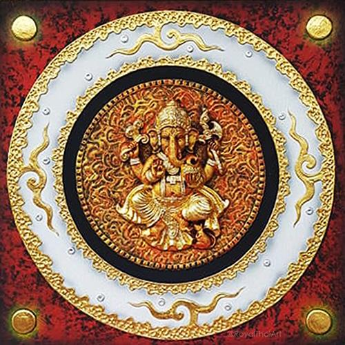 lord ganesha canvas painting lord ganesha wall art ganpati wall art 3d ganesha painting 3d painting 3d ganesh painting ganesh wall art ganesha canvas painting