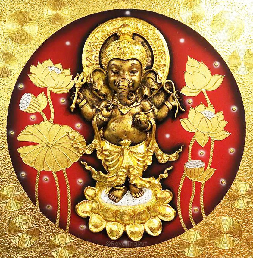 ganesha asian art ganesha painting ganesha canvas painting lord ganesha painting abstract ganesha images
