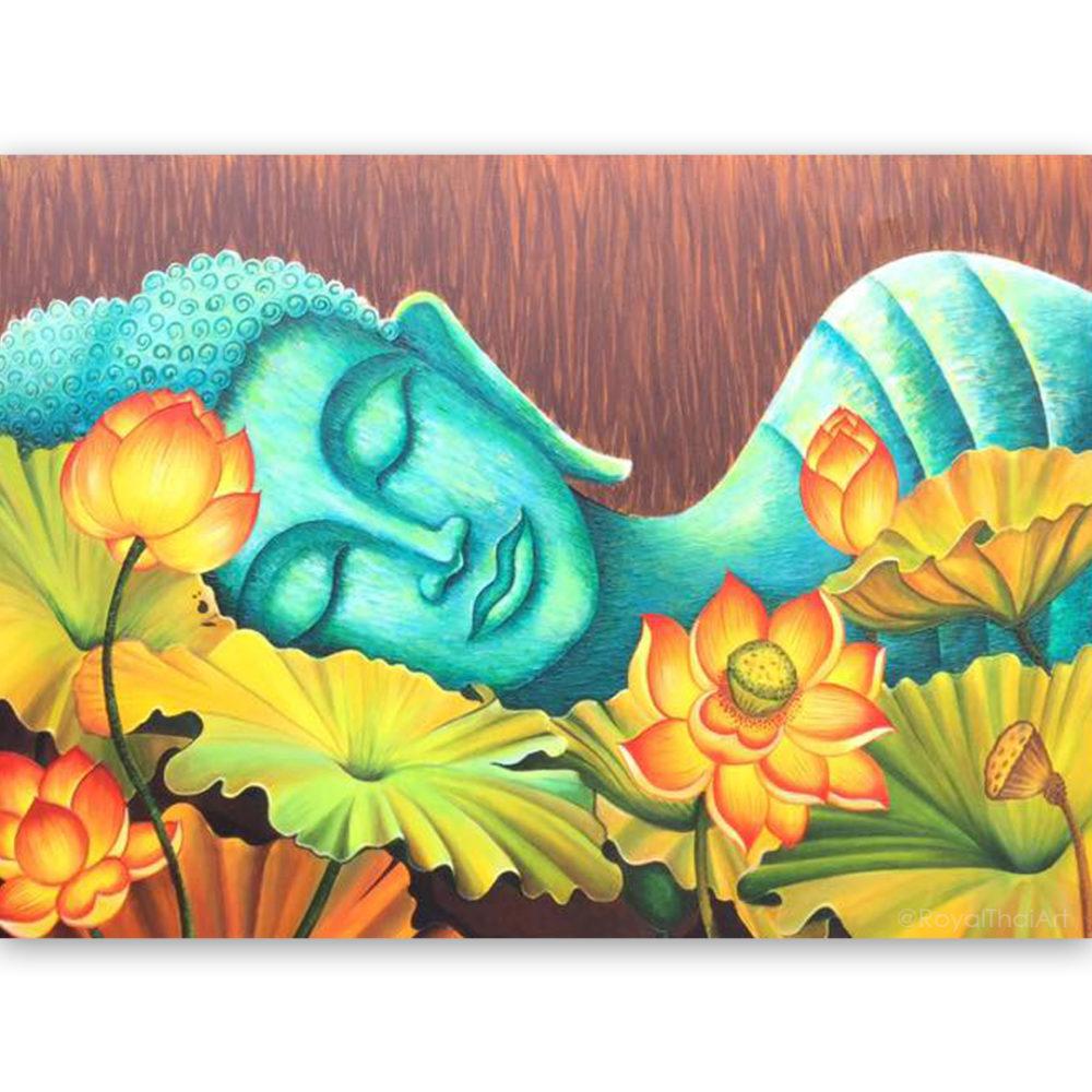 lord buddha sleeping buddha images buddha painting buddha art thai buddha thailand buddha buddha wall art buddha picture buddha decor buddha canvas painting