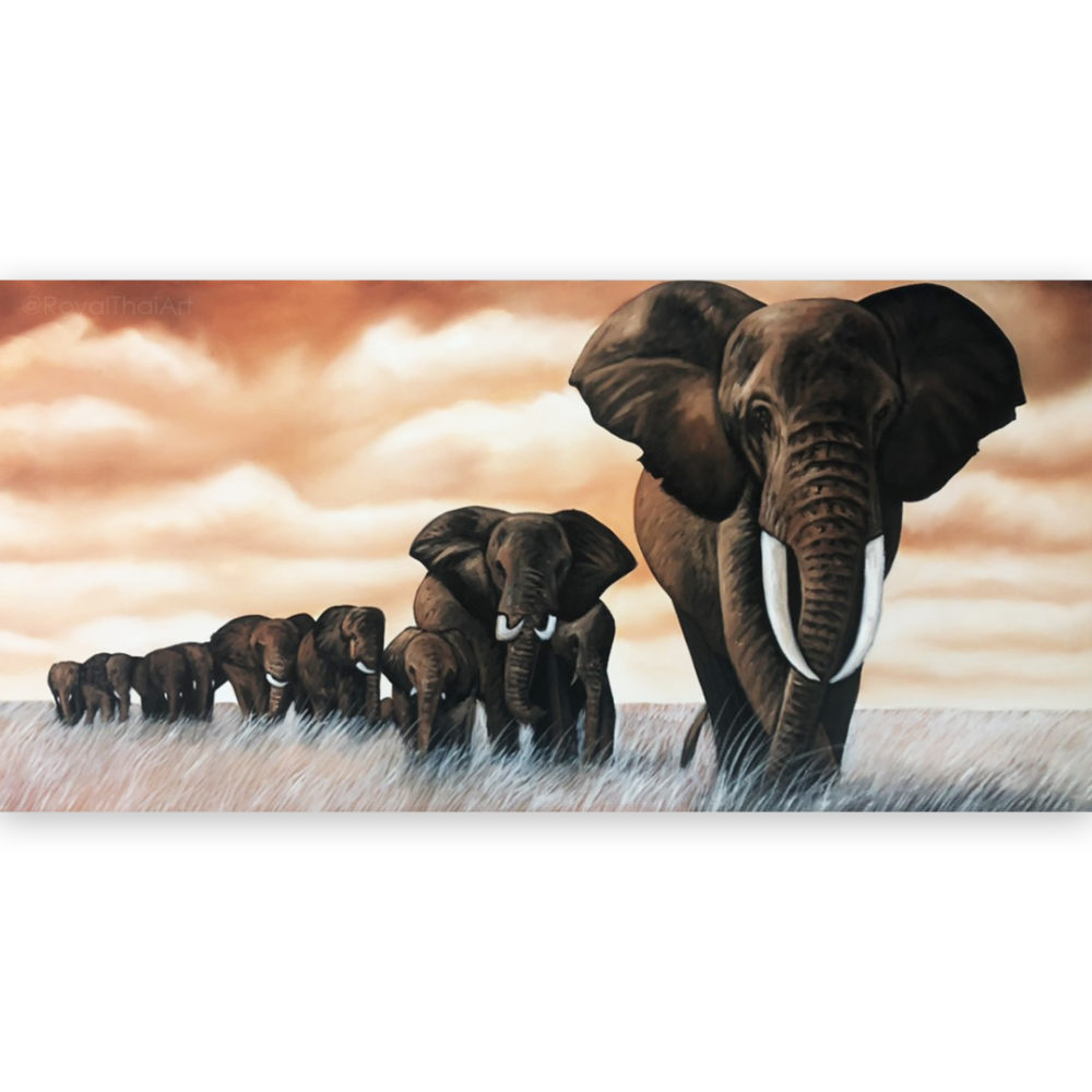 large elephant wall art elephant painting elephant wall art elephant canvas painting paintings of elephants colorful elephant painting buy art online