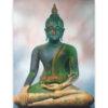 large buddha painting buddha images buddha art thai buddha thailand buddha wall art buddha picture buddha décor buddha canvas painting buddhist painting