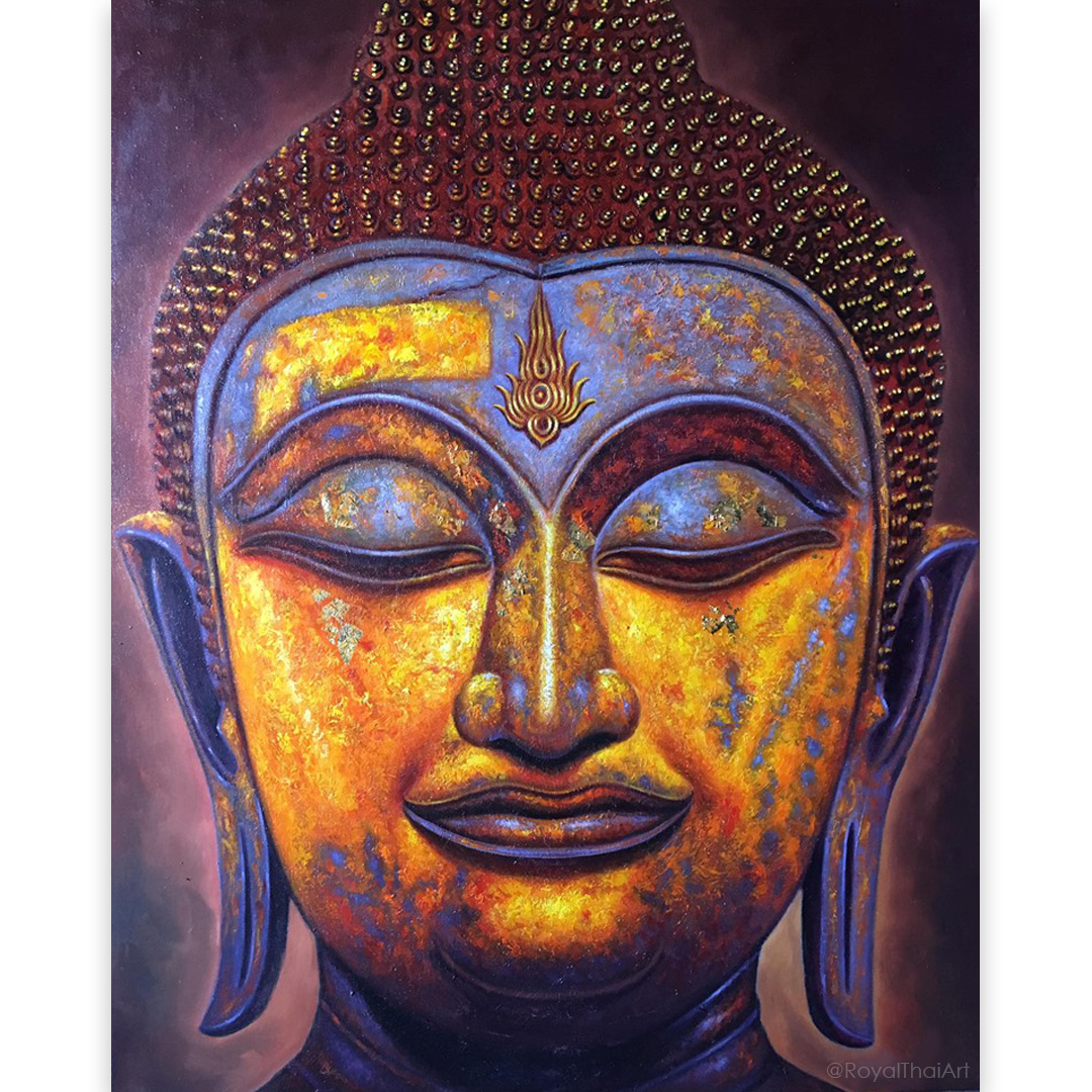 Asian Buddha Painting