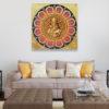 ganesha acrylic painting ganesha canvas painting lord ganesha painting abstract ganesha ganesh wall art ganesha paintings acrylic