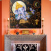 ganesha artwork abstract ganesha paintings on canvas ganesh canvas wall art ganesh painting on canvas lord ganesha wall art ganesha abstract art