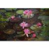 lotus pond painting lotus painting lotus flower painting lotus flower wall art lotus wall art chinese lotus painting abstract lotus painting