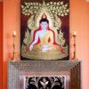 buddha acrylic painting buddha images buddha painting buddha art thai buddha thailand buddha buddha wall art buddha picture buddha decor buddha canvas painting
