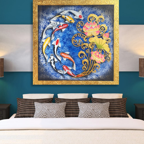 fish painting japanese koi koi carp fish koi picture fish artwork chinese koi fish japanese fish art abstract fish painting buy art