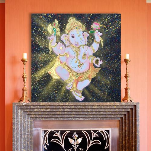 ganesha thai art ganesha painting abstract ganesha ganesh painting ganesh wall art ganesha abstract painting ganesha canvas painting lord ganesha