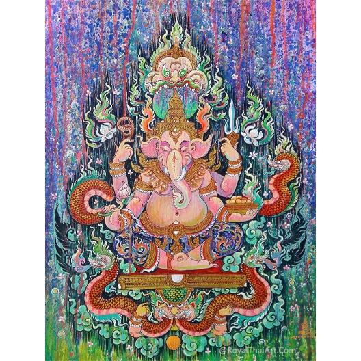 ganesha artwork ganesha art ganesha paintings ganesha acrylic painting on canvas abstract ganesha painting ganesh art images