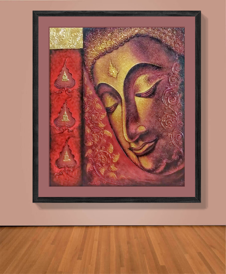buddha paintings on canvas for sale art for sale online asian paintings for sale