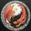 eagle and dragon art dragon painting dragon artwork japanese dragon art dragon wall art