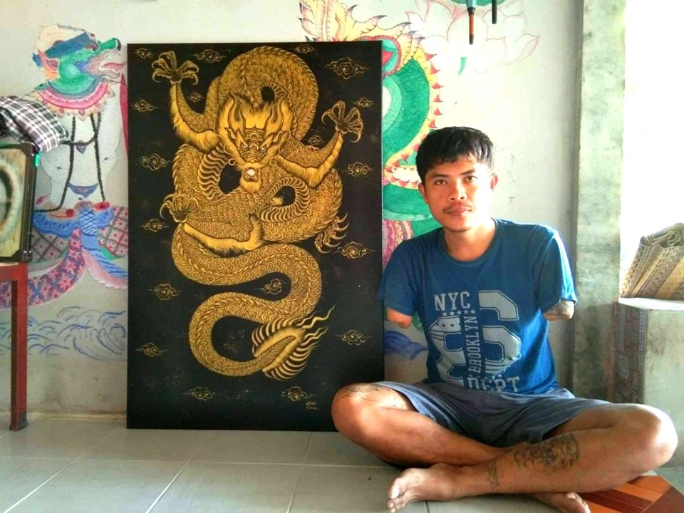 disabled artists in thailand