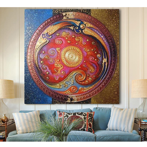 Asian Abstract Art For Acrylic