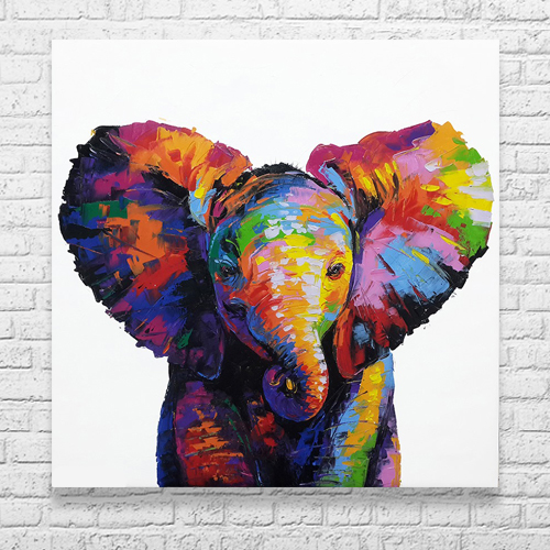 buy baby elephant painting elephant painting elephant art elephant wall decor elephant canvas elephant artwork elephant canvas painting