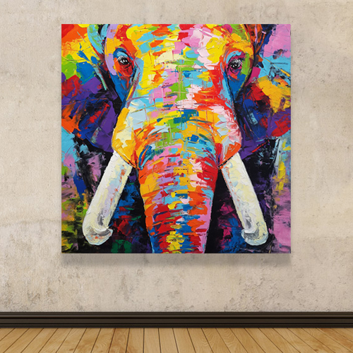 buy abstract elephant painting elephant painting elephant art elephant wall decor elephant canvas elephant artwork elephant canvas painting