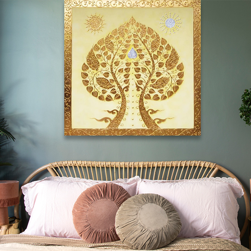 the buddha tree wall decor