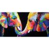 colorful elephant wall art elephant painting elephant art elephant wall decor elephant canvas elephant artwork elephant canvas painting