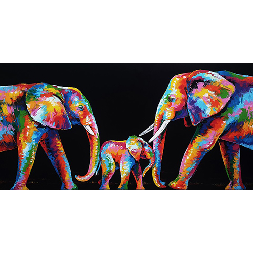 colorful elephant art elephant painting elephant art elephant wall decor elephant canvas elephant artwork elephant canvas painting