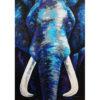 blue elephant painting elephant painting elephant art elephant wall decor elephant canvas elephant artwork elephant canvas painting