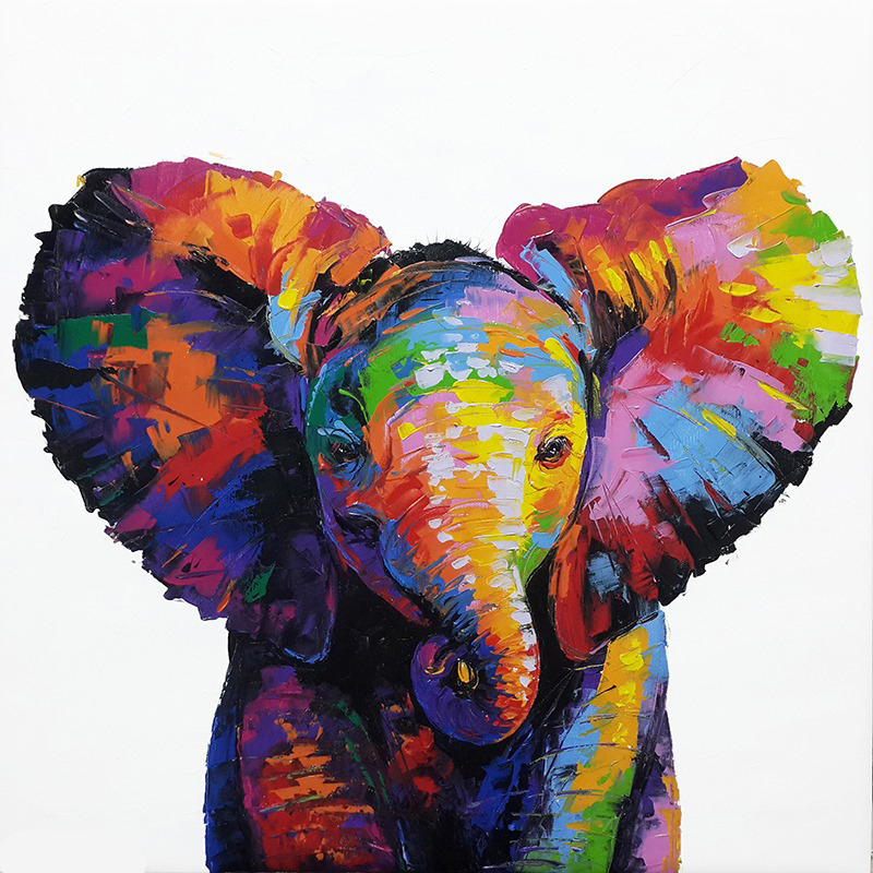 baby elephant painting elephant painting elephant art elephant wall decor elephant canvas elephant artwork elephant canvas painting