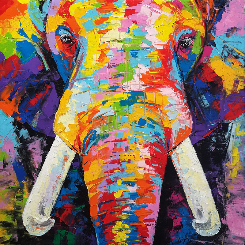 abstract elephant painting elephant painting elephant art elephant wall decor elephant canvas elephant artwork elephant canvas painting