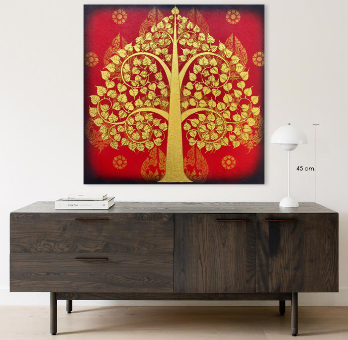 thai bodhi tree wall decor