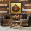 Lord Ganesha Statue 3D Resin Painting for Sale Online