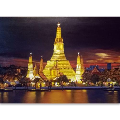 wat arun wat arun ratchawararam wat arun temple thai art thai painting thai artist thai artwork thai wall art traditional thai art