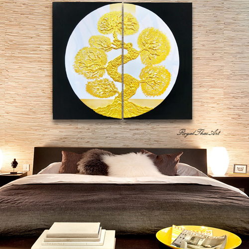 golden tree painting gold tree wall art gold tree canvas art gold leaf tree painting bonsai painting bonsai tree painting bonsai tree artwork bonsai artwork